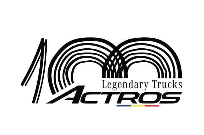 100 Actros Legendary Trucks pentru 100 de ani de România