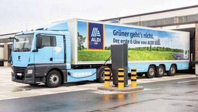 Aldi Süd operează un ansamblu frigorific de 40 de tone complet electric