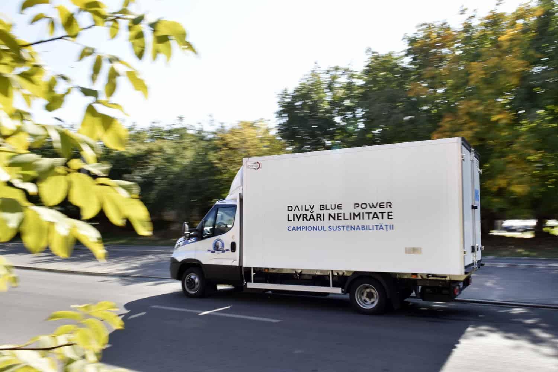 IVECO Daily NP. Distribuție urbană la costuri mici și poluare redusă