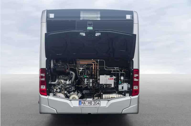 Mercedes-Benz Citaro NGT alimentat cu CNG testat de STB la București