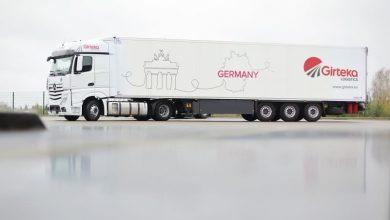 Girteka Logistics și-a propus să cucerească piața germană de transport intern