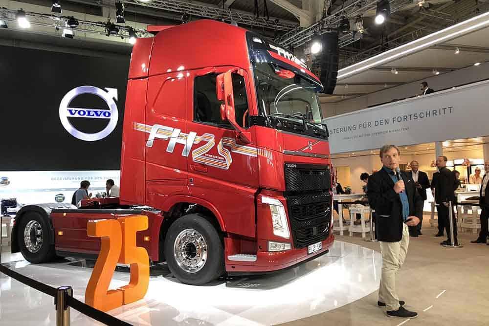 Compania Gesuko A Cumpărat Camionul Volvo Fh Cu Numărul 1