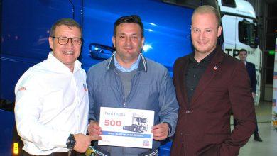 Elisa Expediții a achiziționat camionul Ford cu numărul 500 în România