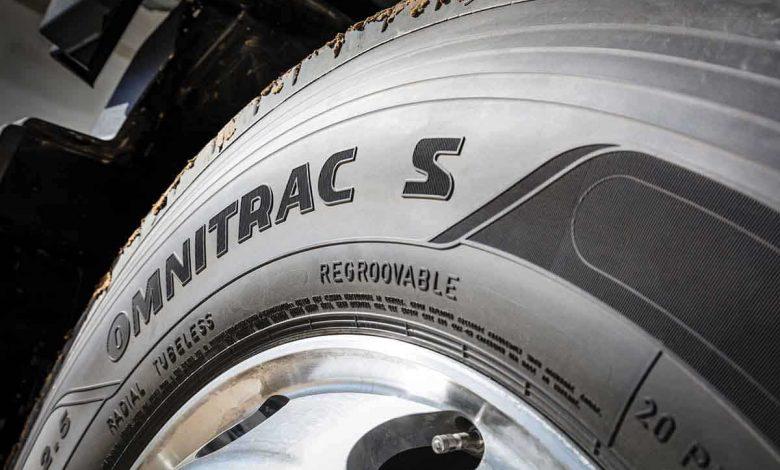 Noua gamă de anvelope mixte pentru camion Goodyear Omnitrac