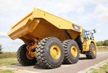 Noul camion articulat Cat 740 GC din clasa medie de 37 de tone