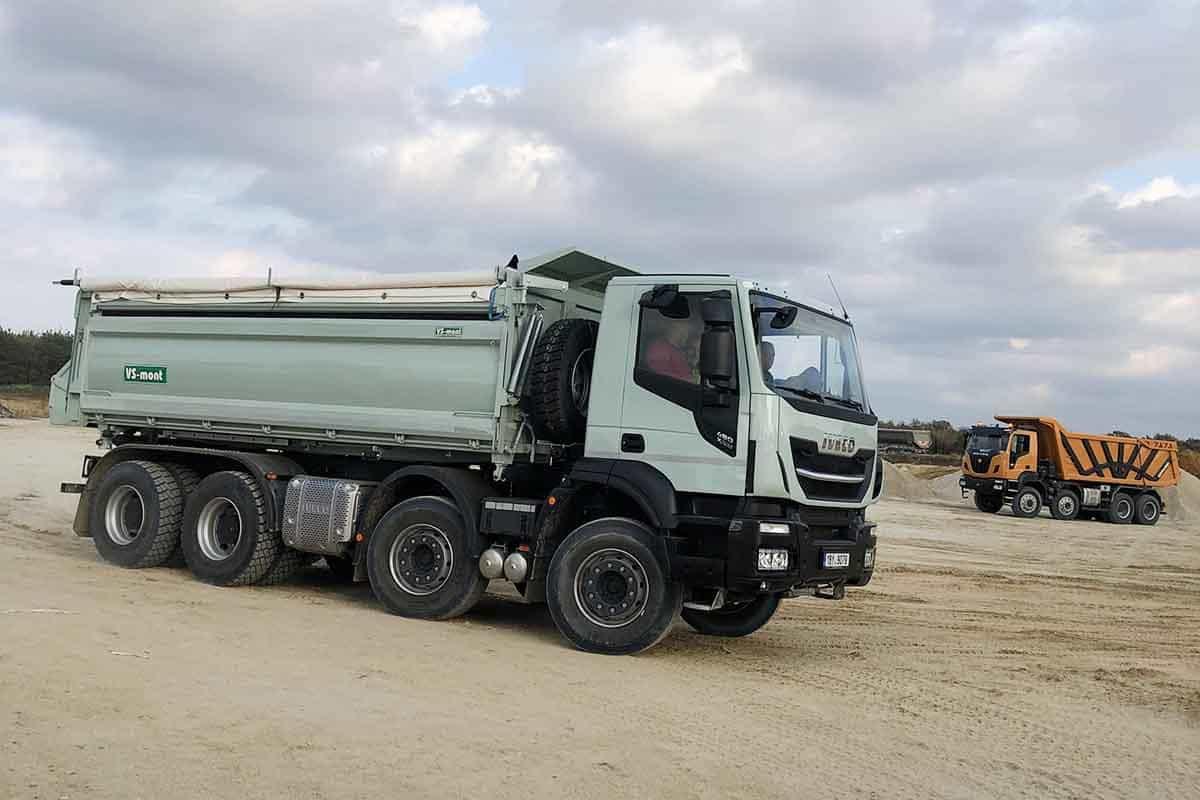 Vehiculele de șantier din portofoliul IVECO testate la Valtice în Slovacia