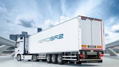 Conceptul AeroSR2 anticipează modul în care vor evolua semiremorci frigo Lamberet
