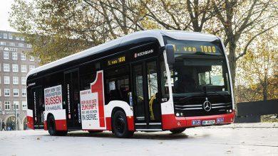 Primul autobuz eCitaro de serie livrat către compania de transport public din Hamburg