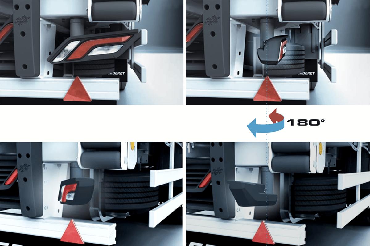 Conceptul AeroSR2 anticipează modul în care vor evolua semiremorcile frigo