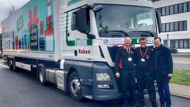 Grupul Raben sprijină convoiul de pachete de Crăciun