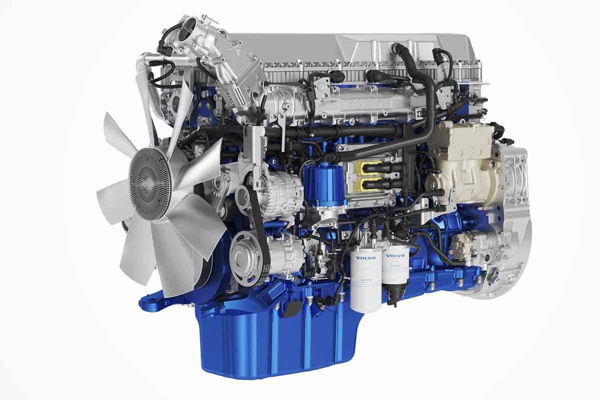 Îmbunătățiri din partea Volvo Trucks pentru motoarele diesel D11 și D13