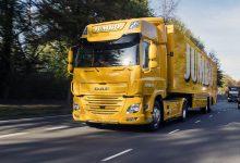 Jumbo livrează în sudul Olandei cu primul camion DAF CF Electric