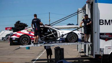 Provocarea logistică pentru echipa BMW Team RLL