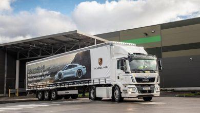 Porsche a achiziționat un camion electric MAN eTruck