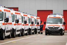 IGSU s-a dotat cu 300 de ambulanțe Renault Master pe fonduri europene