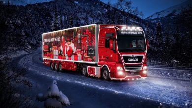 Crăciunul vine la tine cu noul camion MAN Christmas