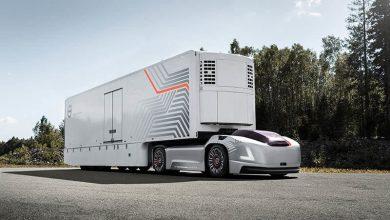 Designul camionului electric autonom Volvo Vera, explicat de specialiștii constructorului suedez