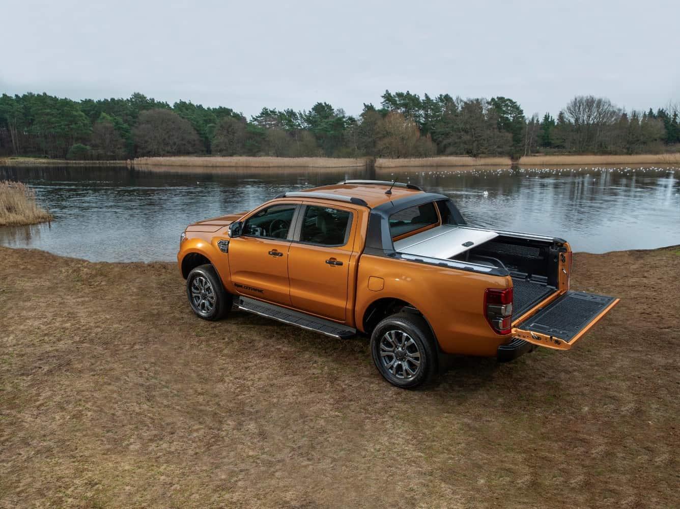Noul Ford Ranger primește un nou motor diesel și o cutie automată cu 10 trepte