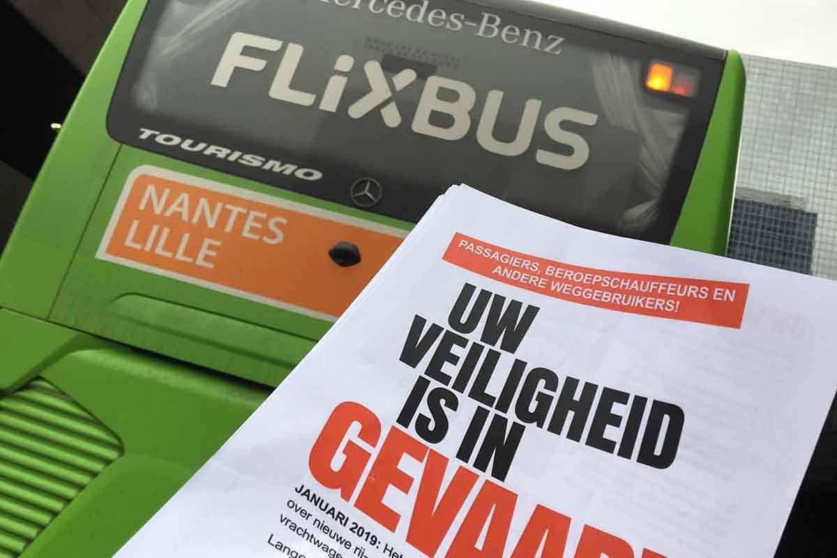 Șoferii europeni de camion și autocar cer votarea un Pachet de Mobilitate echitabil