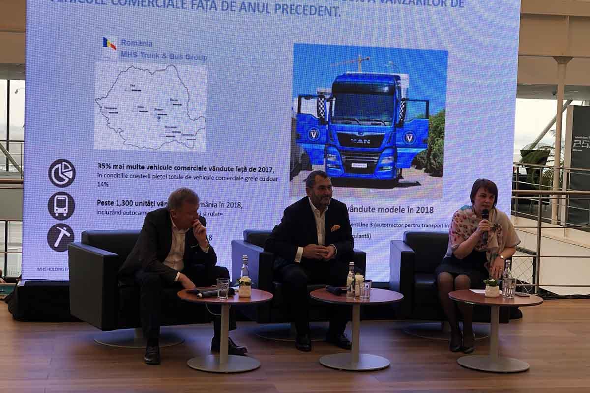 MHS Truck & Bus Group a înregistrat o creștere a cifrei de afaceri cu 30% în 2018