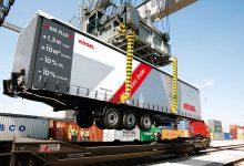 A fost reluat transportul de semiremorci neînsoțite pe vagoane-buzunar în Danemarca