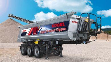 Semiremorca basculabilă Kögel Trucker Tipper cu volum de 24 mc va fi expusă la Bauma 2019