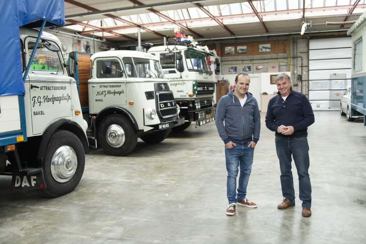 """Cel mai vechi camion DAF care încă """"muncește"""" este un A1600 și are peste 50 de ani"""