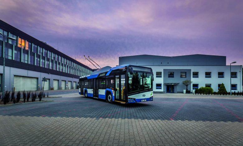 Solaris va livra 22 de troleibuze Trollino 12 în Saint-Etienne