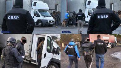 Poliția poloneză a destructurat o grupare internațională de crimă organizată