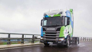 Vlantana testează primul camion alimentat cu CNG din Lituania