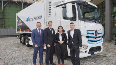 eActros este primul camion echipat cu suprastructura frigorifică W.KO COOL cu zero emisii