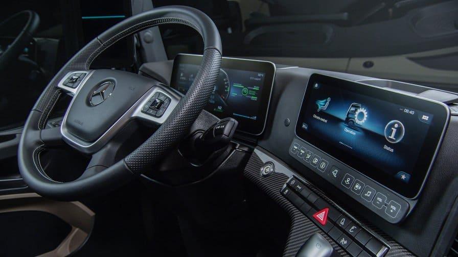 Noul Actros, una dintre premierele Mercedes-Benz de la Bauma 2019