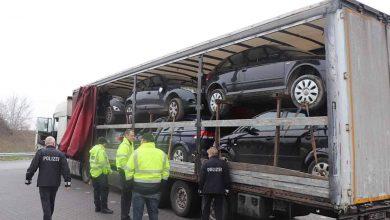 Control privind încălcarea legii rutiere, defecte tehnice și mersul cu supratonaj în Germania