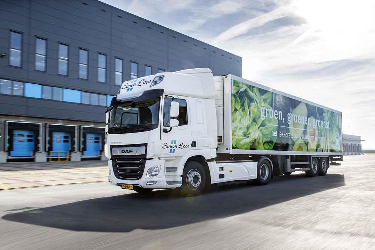 Aprovizionarea cu emisii zero utilizând DAF CF Electric și DAF CF Hybrid