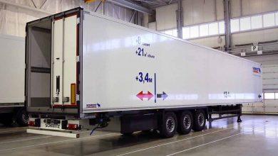 Semiremorca frigorifică S.KO este disponibilă și în versiune lungă de 16.8 metri