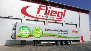 Fliegl SDS 390 X-tra LONG oferă un volum de încărcare de 101 mc