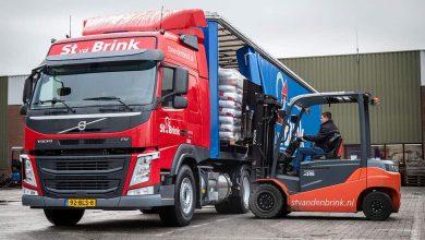 St van den Brink a cumpărat 14 camioane Volvo alimentate cu LNG