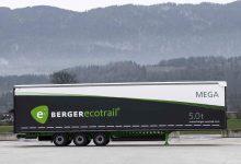 BERGERecotrail 24 LTMn este cea mai ușoară semiremocă de volum de pe piață