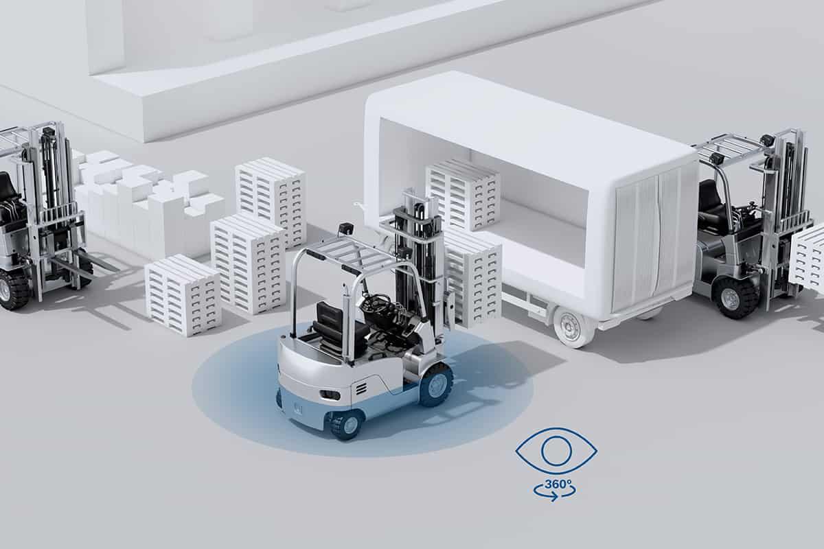Bosch lansează un sisteam multi-camera pentru motostivuitoare