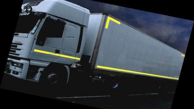 Semnalizare corespunzătoare în trafic utilizând banda reflectorizantă de contur Oralite