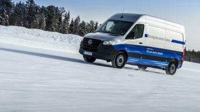 Mercedes-Benz a încheiat testele în condiții de iarnă cu eSprinter