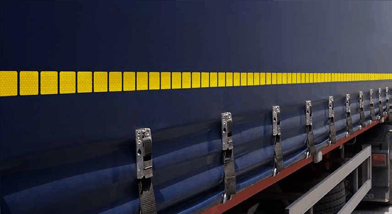 Banda reflectorizantă de contur Oralite pentru vehicule comerciale