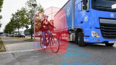 ZF propune un sistem pentru monitorizarea unghiului mort destinat camioanelor