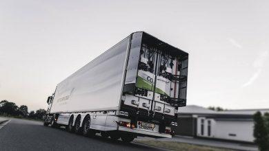 Sistem de spoilere pentru semiremorci izoterme Krone și Schmitz Cargobull
