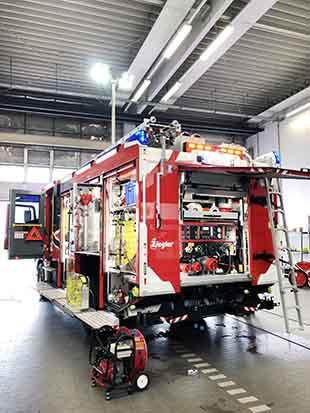 MHS Holding și ZIEGLER vor asambla vehicule pentru stingerea incendiilor la Sibiu