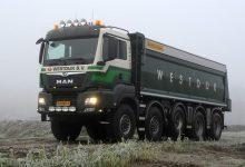 Camionul MAN TGS 50.500 10x8 cu numărul 100 a fost livrat în Olanda