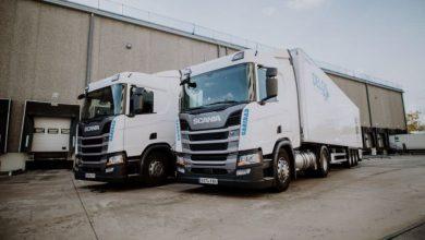 37 de camioane Scania cu LNG achiziționate de spaniolii de la Delgo