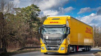DHL Freight testează IVECO Stralis NP cu LNG în combinație cu o semiremorcă mega