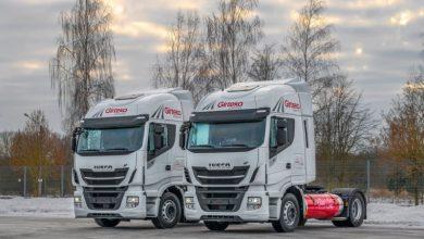 Girteka Logistics testează camioanele IVECO Stralis NP 460 cu gaz natural lichefiat (LNG)