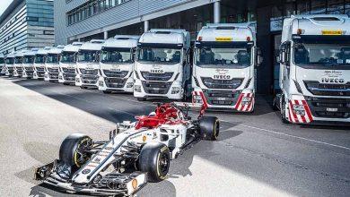 IVECO a devenit furnizorul oficial de camioane al echipei Alfa Romeo Racing